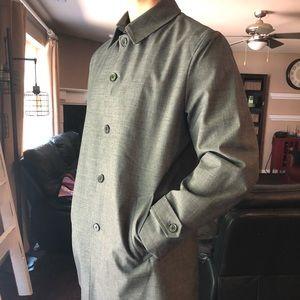 Joseph Abboud Rain Coat Extra Long
